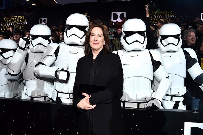 President of Lucasfilm Kathleen Kennedy