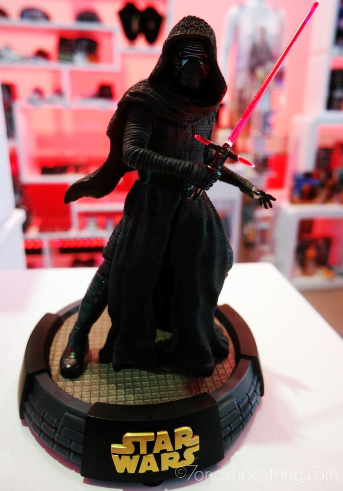 Kylo Ren light up saber figure