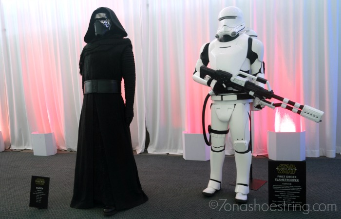Kylo Ren and Flametrooper