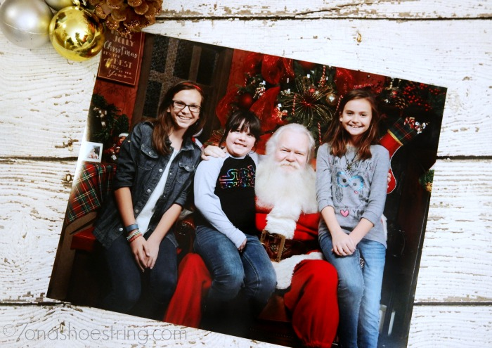 Portraits with NorthPark Santa