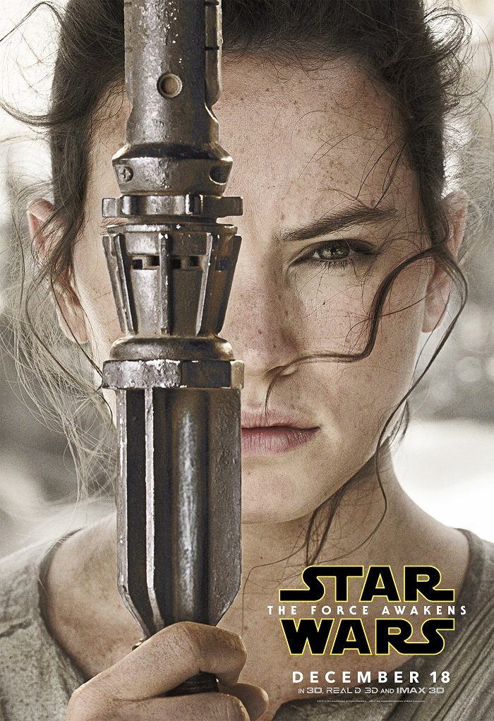Rey - Star Wars The Force Awakens