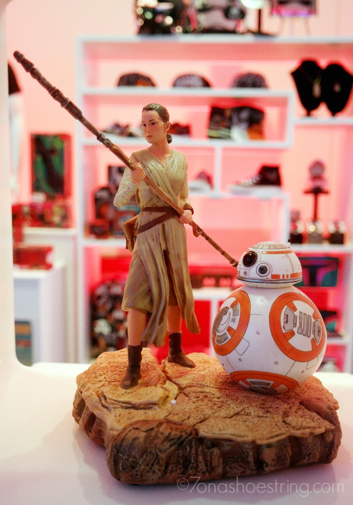 Rey and BB-8 toy figure