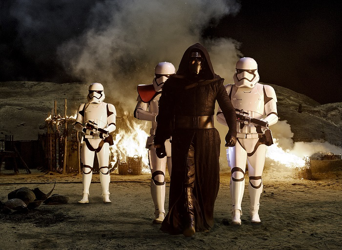 Star Wars Kylo Ren and the Stormtroopers