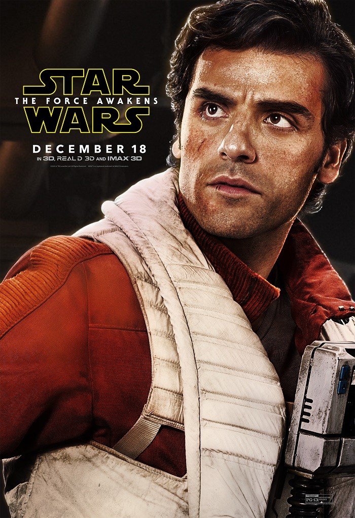 Star Wars - Oscar Isaac as Poe
