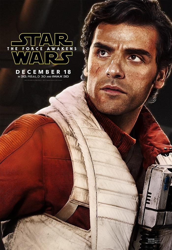 Star Wars - Oscar Isaac as Poe
