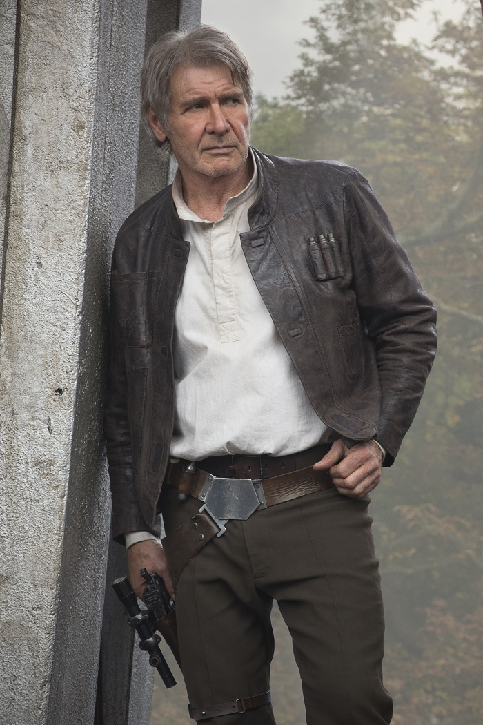 Star Wars The Force Awakens - Harrison Ford - Han Solo