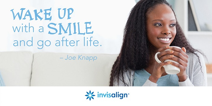 Wake up and smile - Invisalign