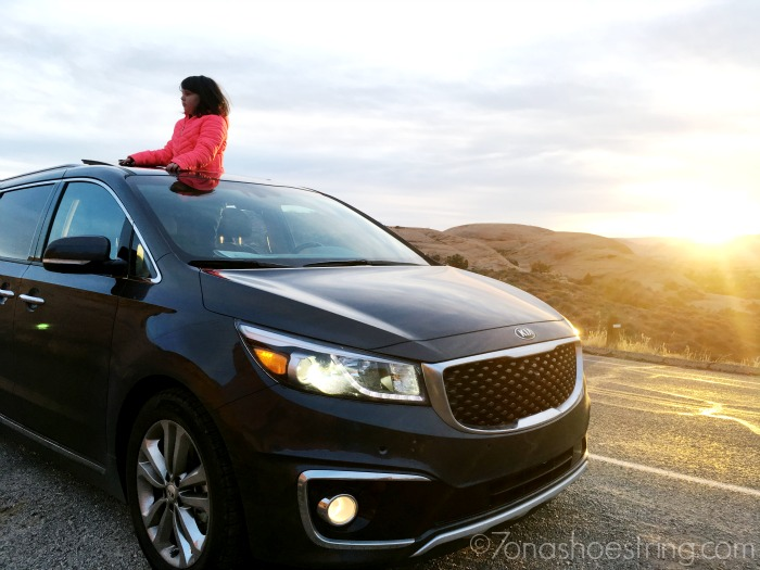 2016 Kia Sedona road trip travel with kids