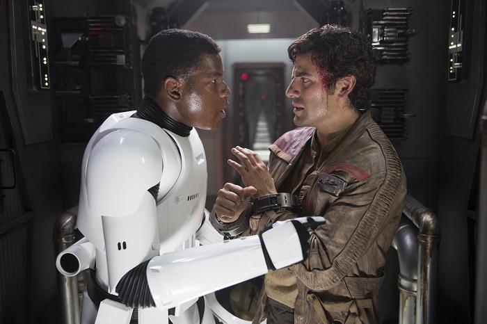 star wars John Boyega and Oscar Isaac