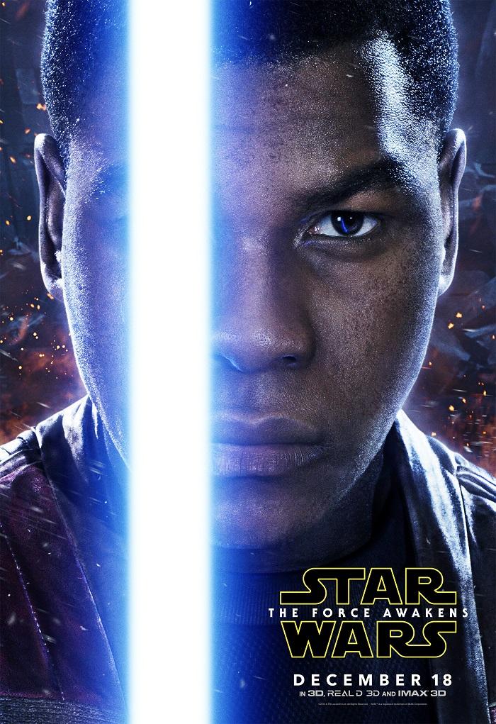 Star Wars John Boyega as Finn poster