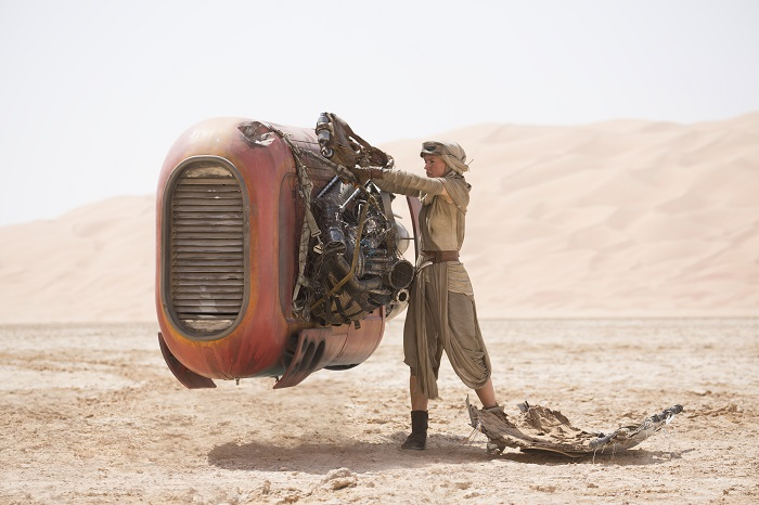 Star Wars: The Force Awakens..Rey (Daisy Ridley)