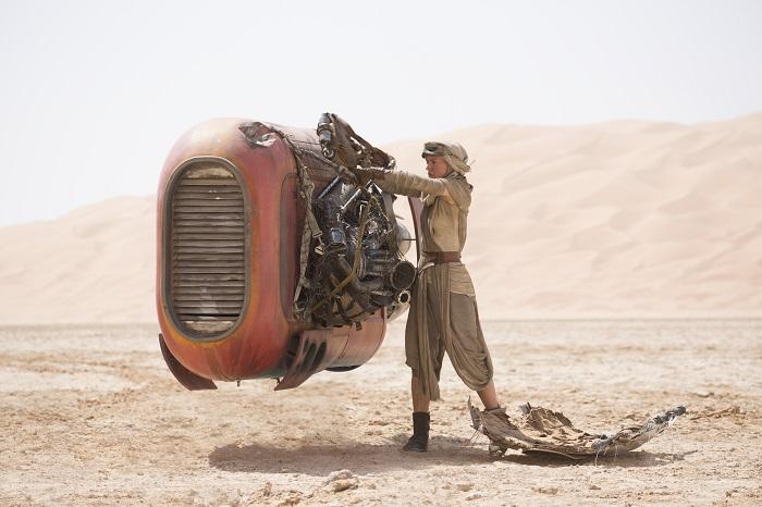 Star Wars: The Force Awakens..Rey (Daisy Ridley)