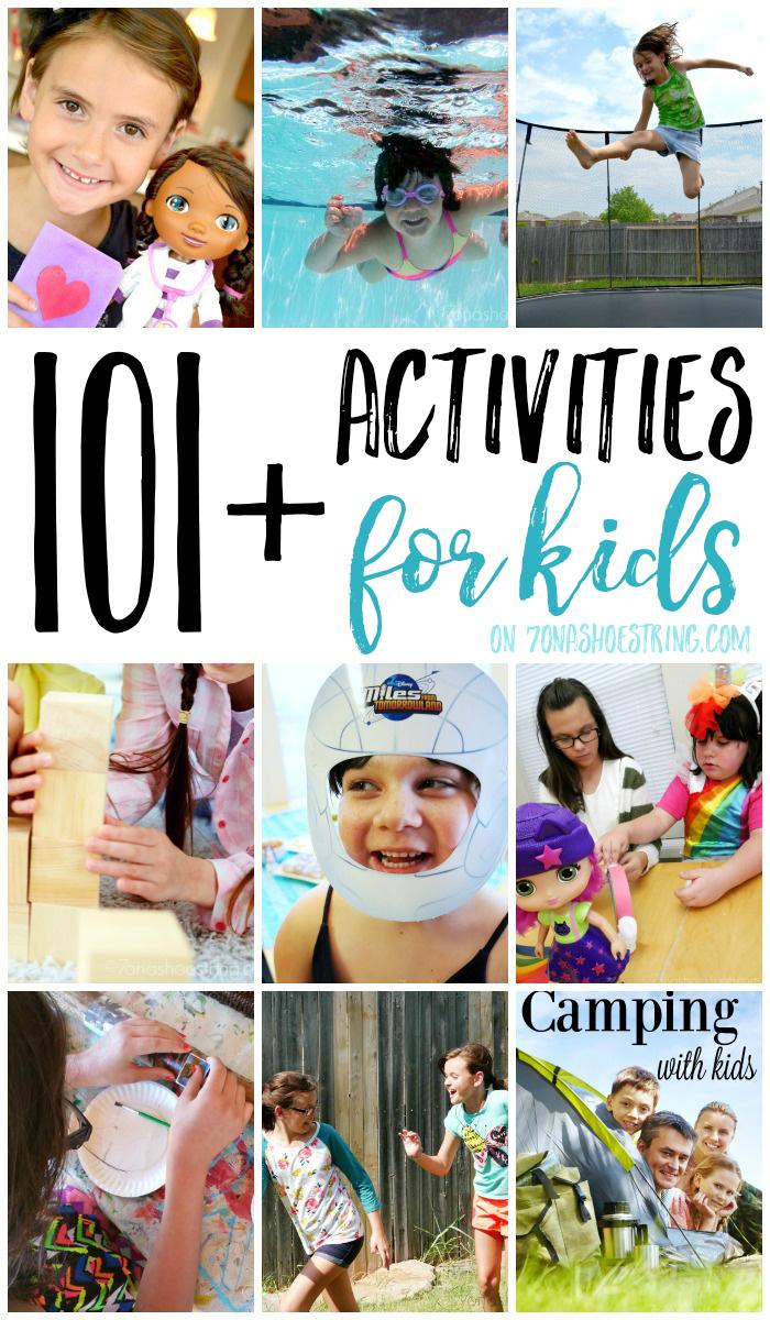 101+ activities for kids
