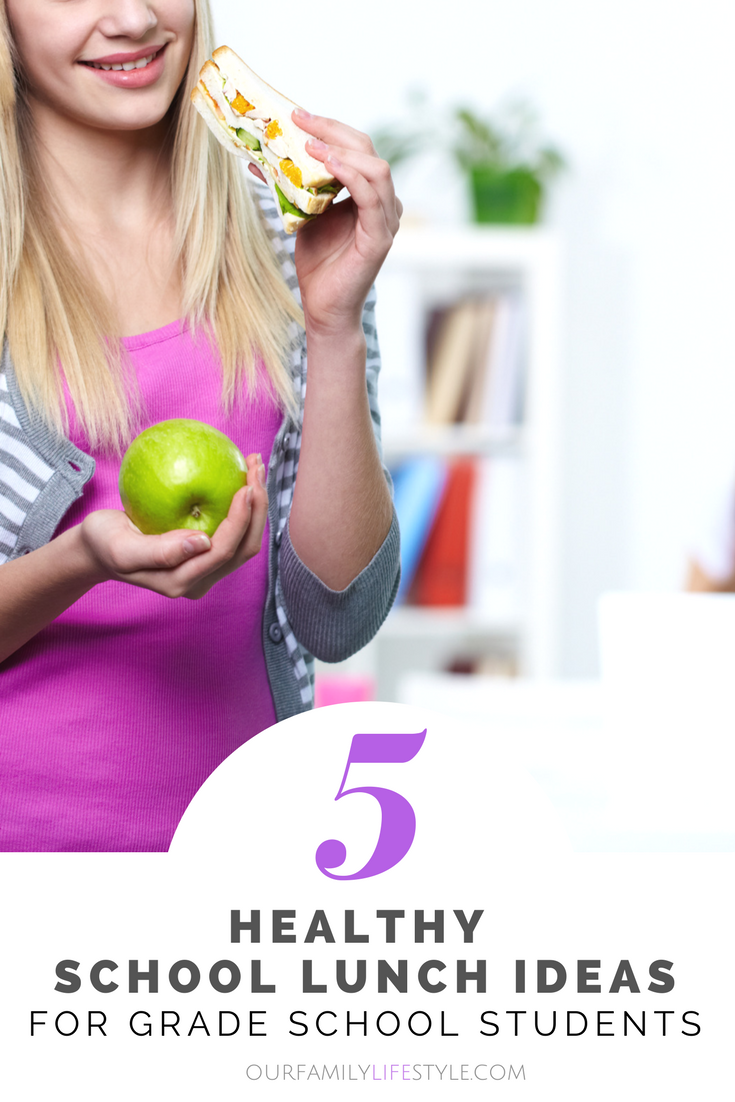 5 Healthy School Lunch Ideas for Grade School Students