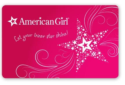 American Girl egift card