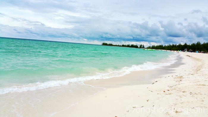 Caribbean beach - Carnival Cruise