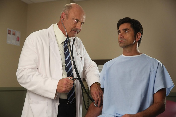 Dr Phil and John Stamos