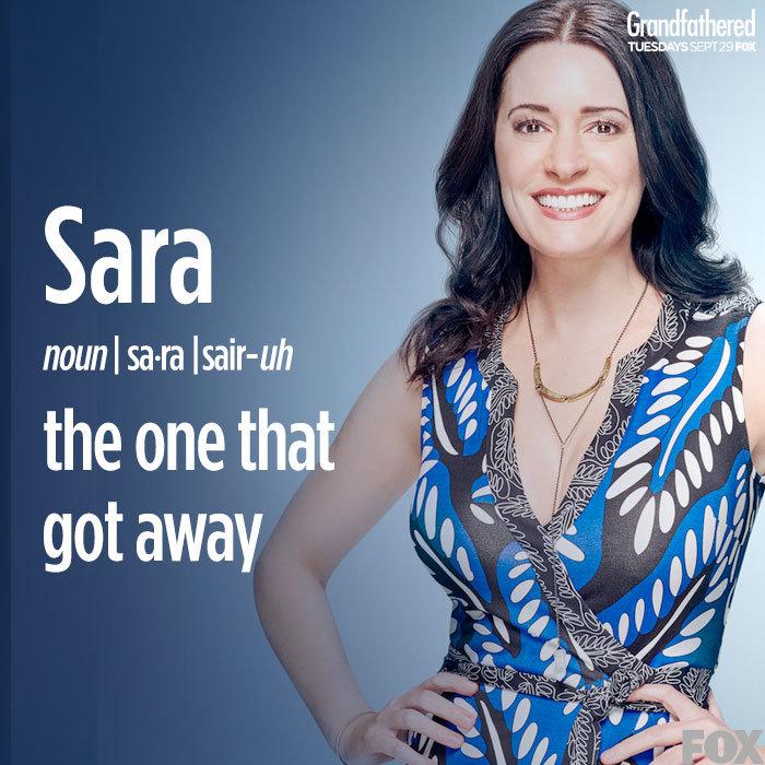 GRANDFATHERED Paget Brewster - Sara