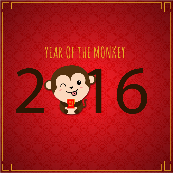 Chinese New Year - Year of the Monkey