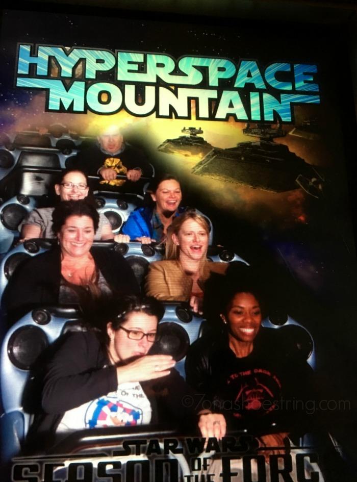 Disneyland Hyperspace Mountain