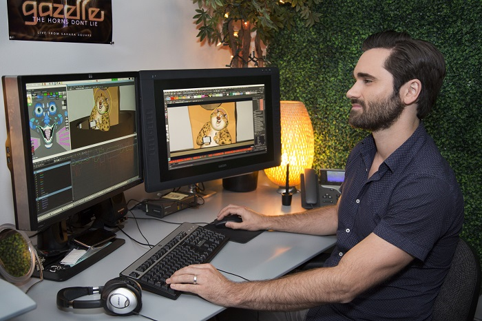 Animation Supervisor Nathan Engelhardt