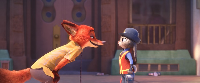 ZOOTOPIA Nick and Judy