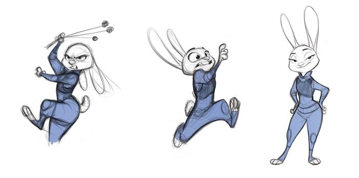 ZOOTOPIA - How to draw Judy Hopps
