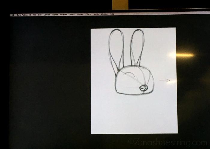 draw Judy Hopps Zootopia