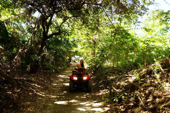 jungle exploring in Costa Rica