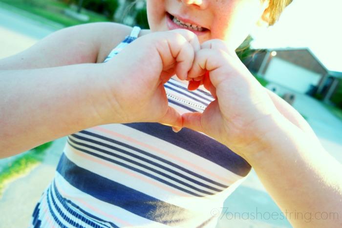 show and teach kids love