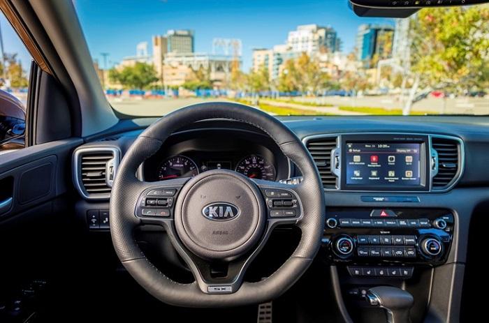 2017 Sportage SX Turbo interior dash