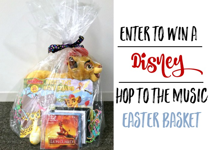 Disney Hop to the Music Easter Basket