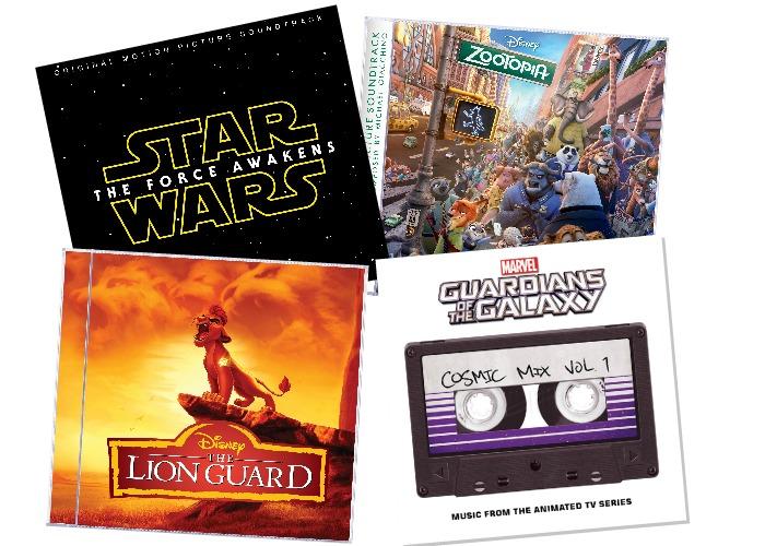 Disney Soundtracks - Hop to the Music