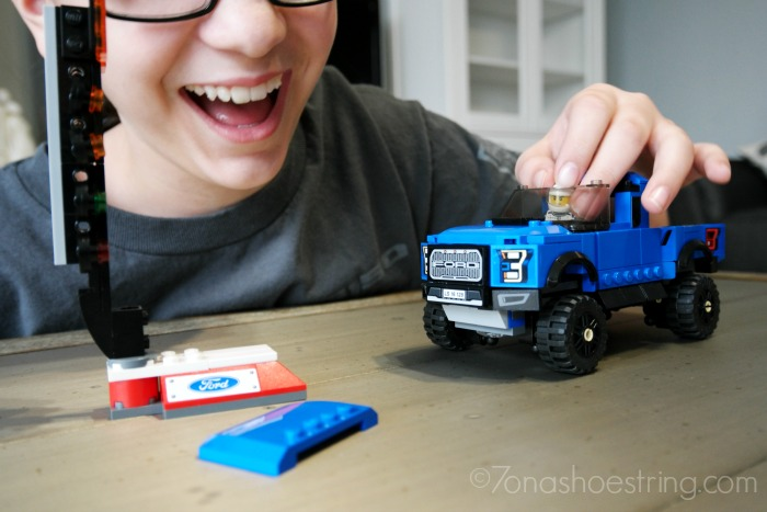 My new Ford Raptor has arrived! (Well, the LEGO version)