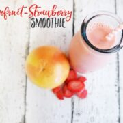 Sweet Grapefruit-Strawberry Smoothie
