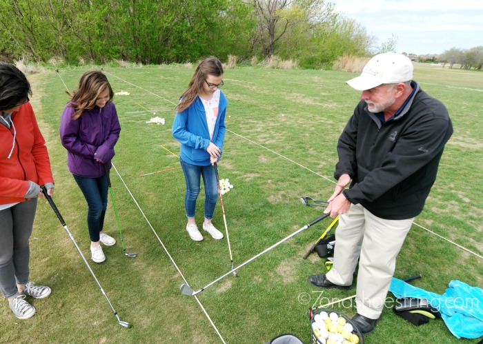 golf lesson with Russell Orth, PGA