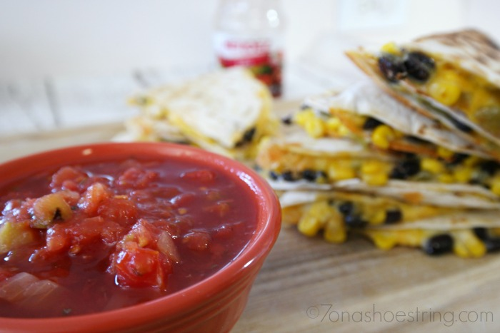 Black Bean Southwest Quesadillas :: Perfect Mexican Food for Kids Recipe