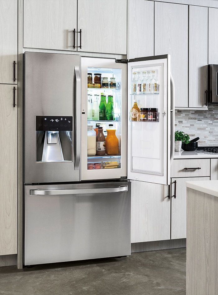 LG fridge from Best Buy
