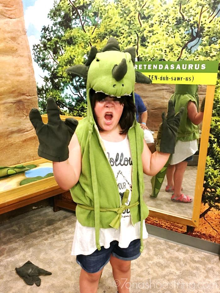 Creative Discovery Museum Pretendasaurus