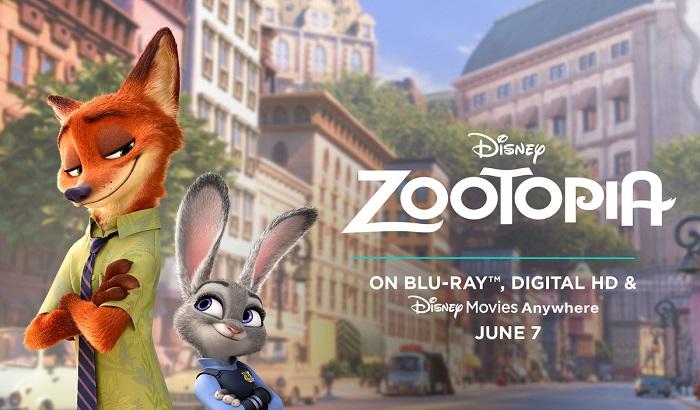 Disney Zootopia Blu-ray