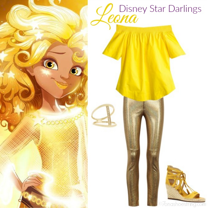 Disneybound by princessjace - Star Darlings Leona