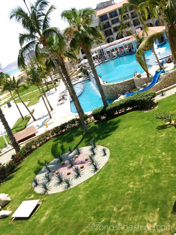 Dreams Los Cabos pool and garden