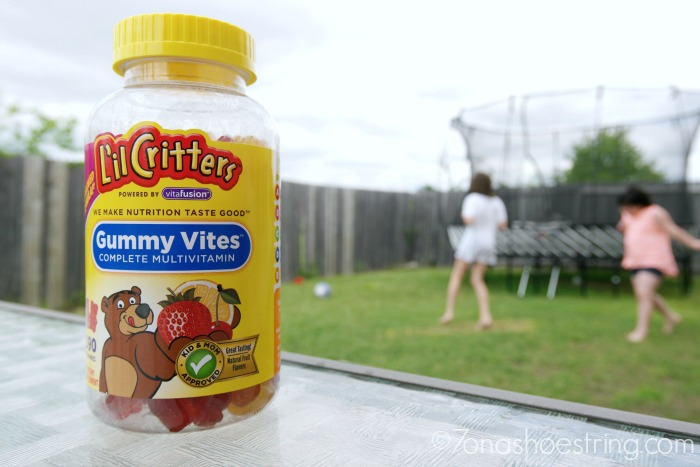 family fun outdoors with lil critters