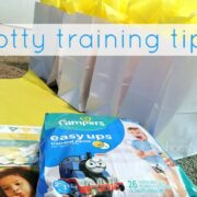 Pampers Easy Ups potty training tips