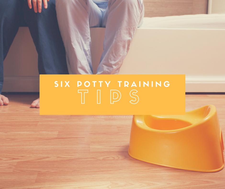 6 Potty Training Tips