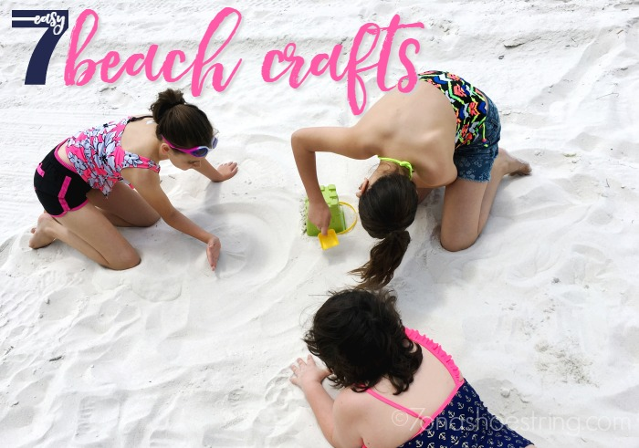 7 easy beach crafts