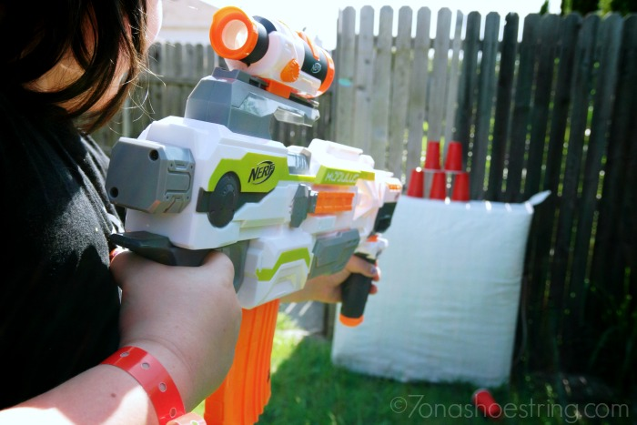 Tin Can Alley Carnival Themed NERF Games