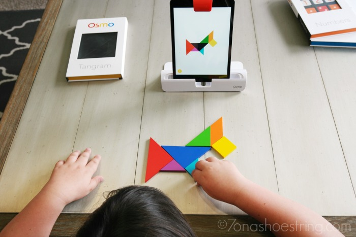 Osmo game system with iPad mini