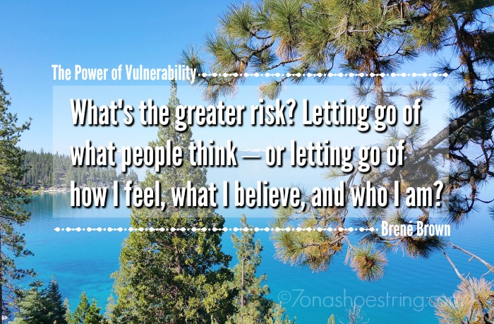 The Power of Vulnerability quote