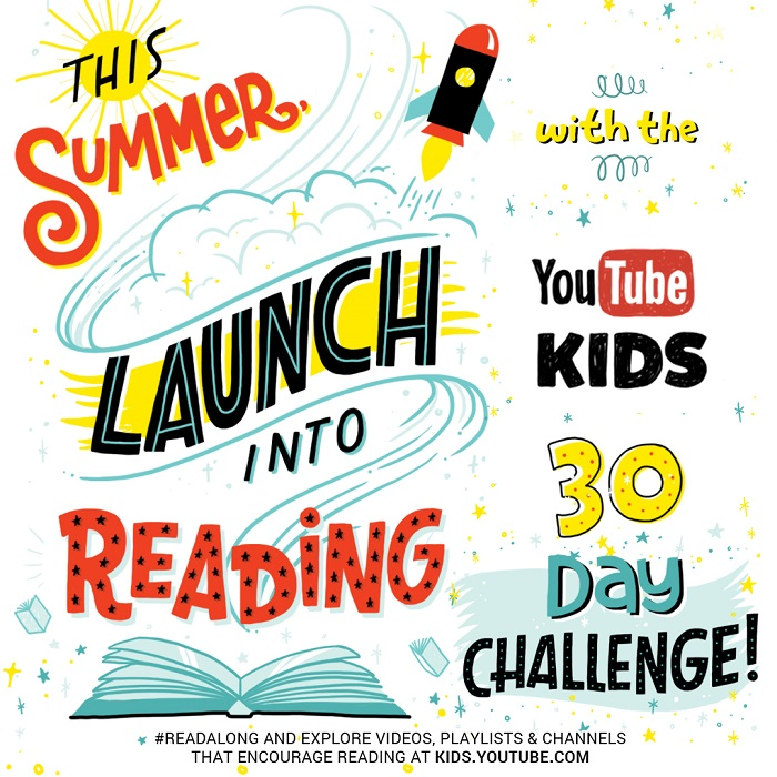 YouTube Kids 30 Day Reading Challenge